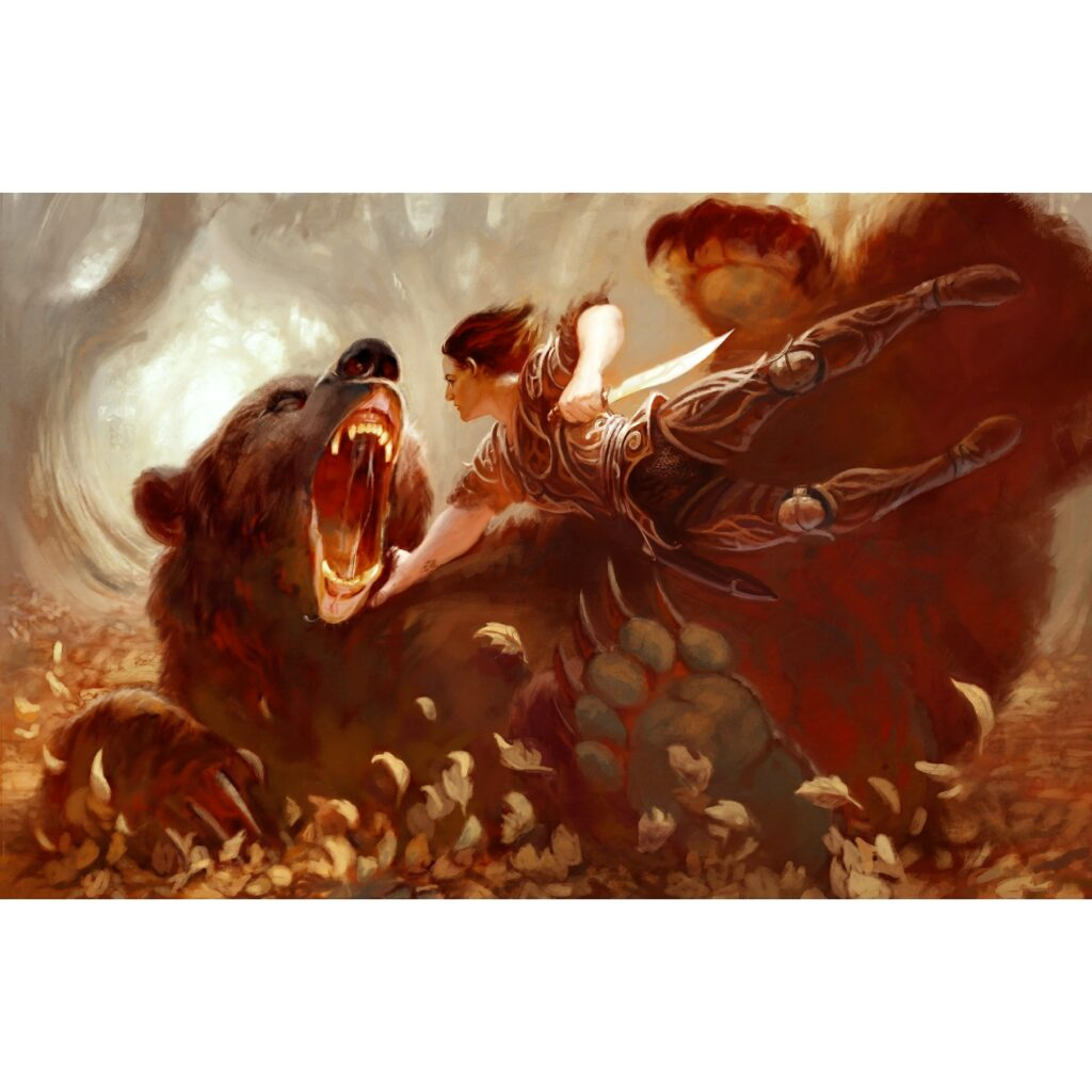 Fighting The Bear Art