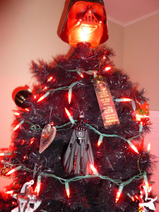 Of COURSE I have the One Ring on my tree as a Sithmas ornament! What did you expect?