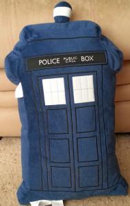 TARDIS-pillow