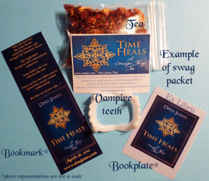 This is just an example photo. There will be four sample packets of tea included in this giveaway.