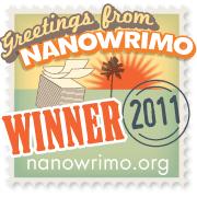NaNo Winner Badge